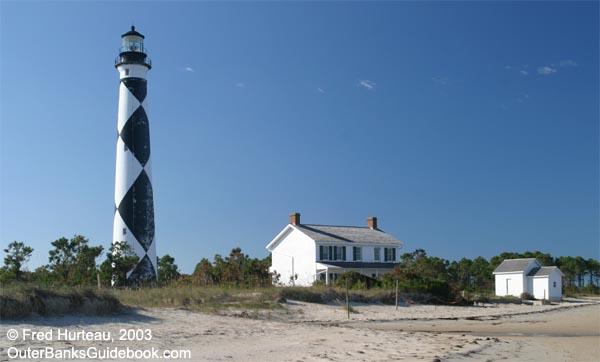 CarolinaOuterBanks com - Cape Lookout Lighthouse