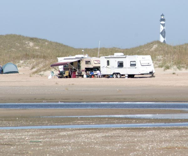 Outer Banks Beach Camping National Park